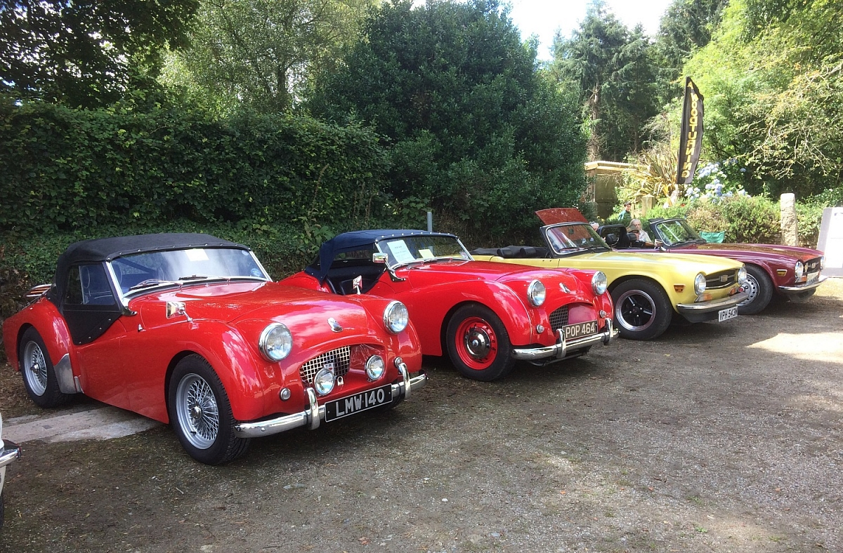 Cornwall Group - Tregrehan Classic Cars & Country Fayre