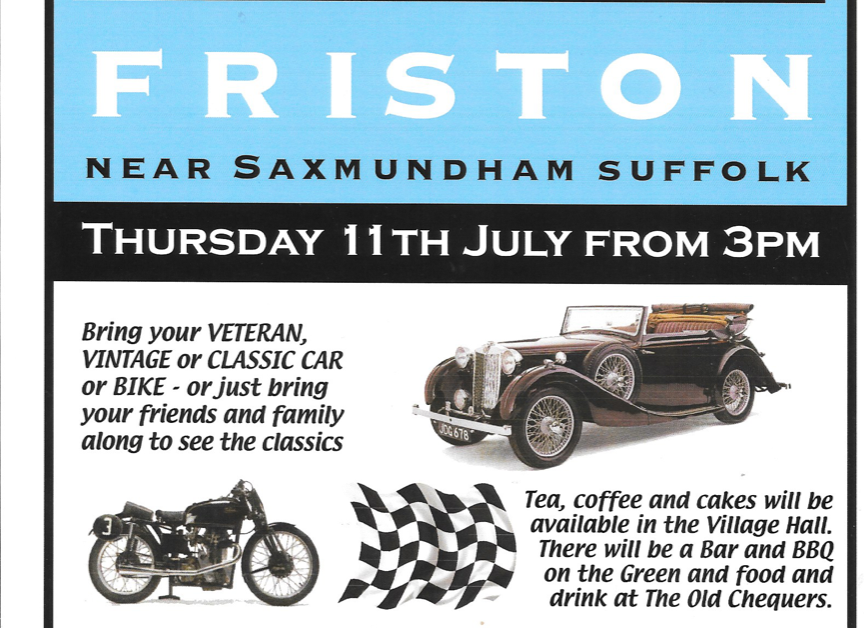 TR Wensum Event - Classic On The Green Friston Drive In - TRs on Show 2019