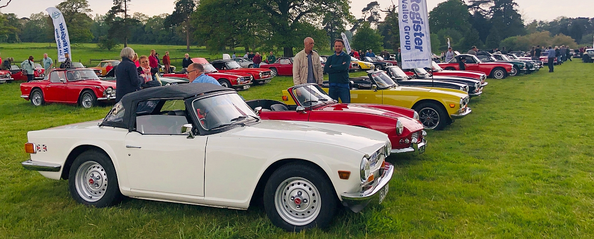 Huge turnout for National TR6 Day at the Standard Triumph Picnic