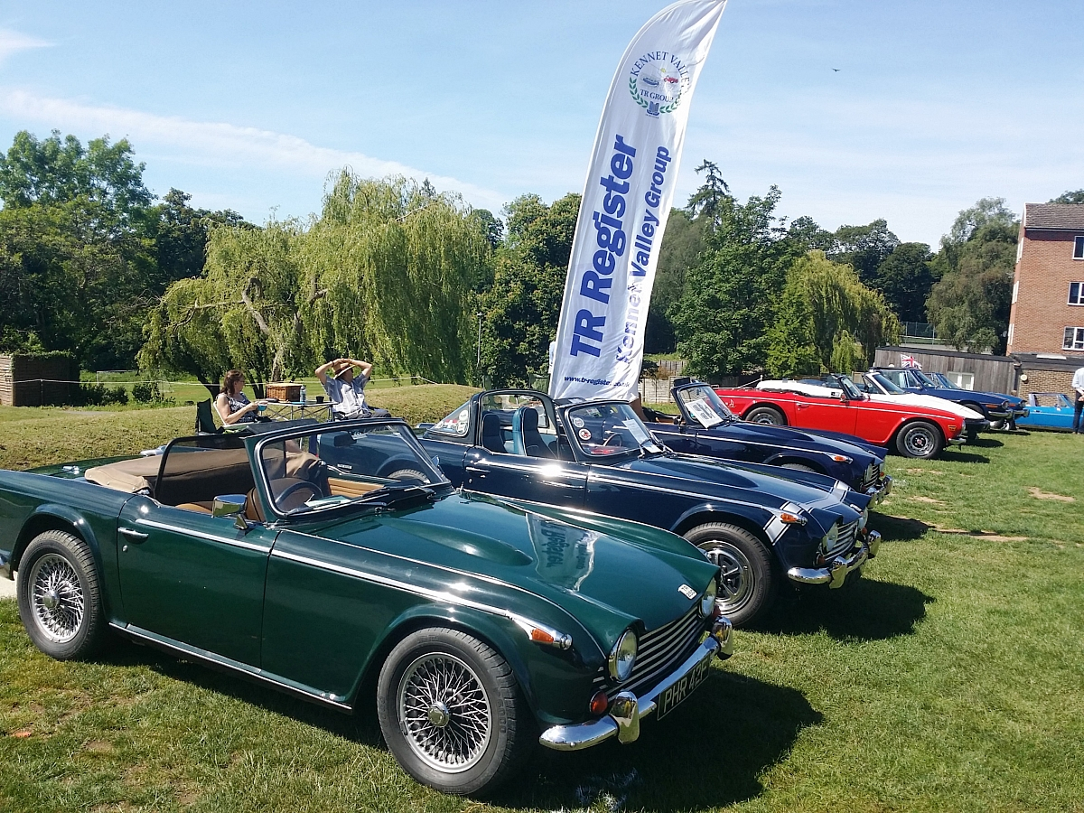 Kennet Valley TR Group enjoy a sunny June day at Pangbourne College Classic