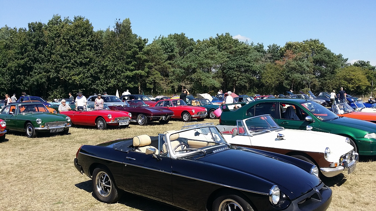 Kennet Valley and other TR Groups invited to 'RAID' the Classic Car & MG Summer Picnic