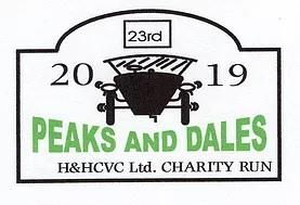 Red Rose Group - Peaks & Dales Classic Car Run 2019