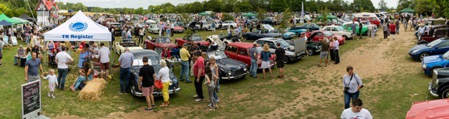 Kennet Valley TR Group member wins best 1960 car at Notcutts Classic