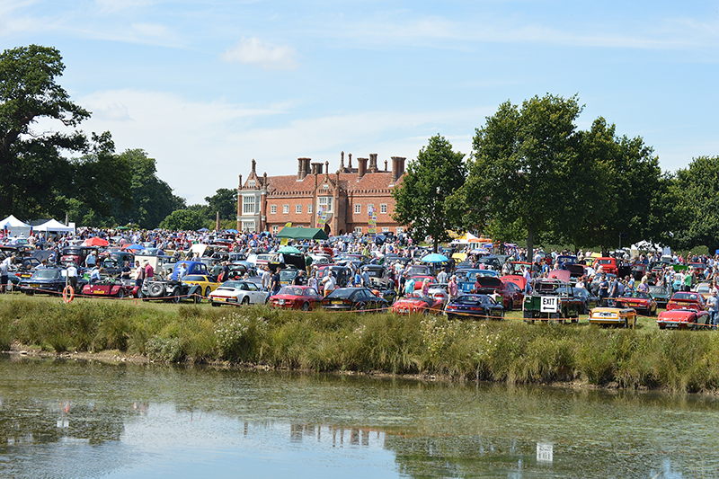 Helmingham Hall Festival of Classic & Sports Cars. 4th August