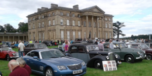TR Register Shropshire Group Run to Attingham Park Classic Vehicle Rally