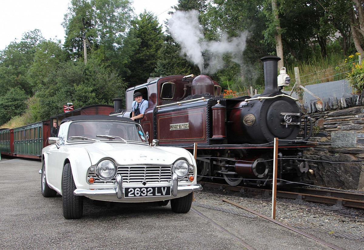 TR Register Shropshire Group Open Road Run to The Ffestiniog Railway