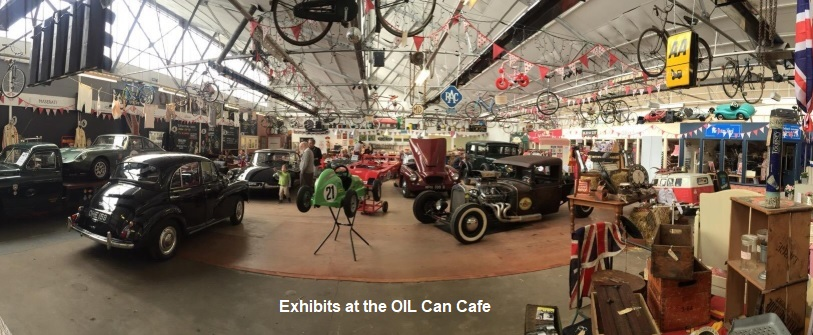 Sunday Run to the Oil Can Cafe, 1st September