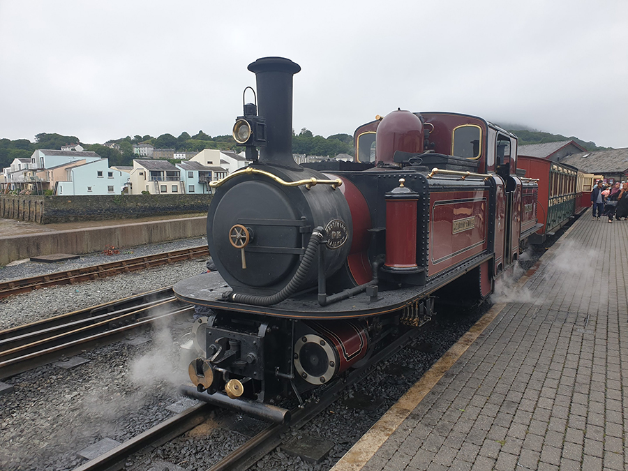 Report on TR Register Shropshire Group Run to Ffestiniog Railway on 14th August 2019