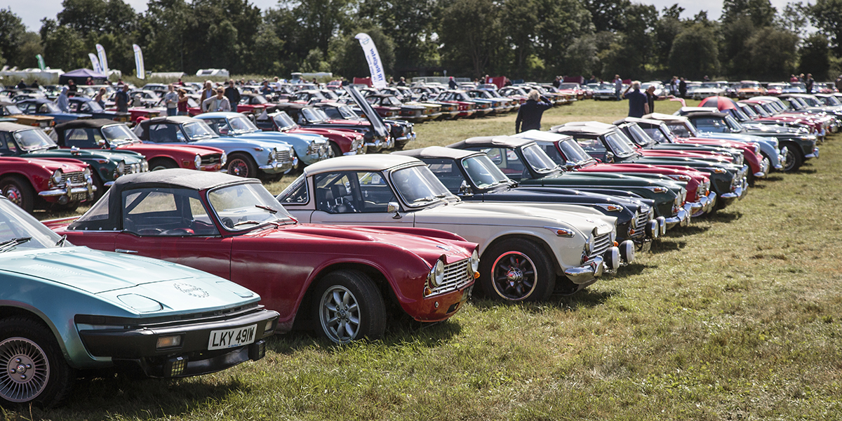 Record attendance at Inter-club Triumph Weekend