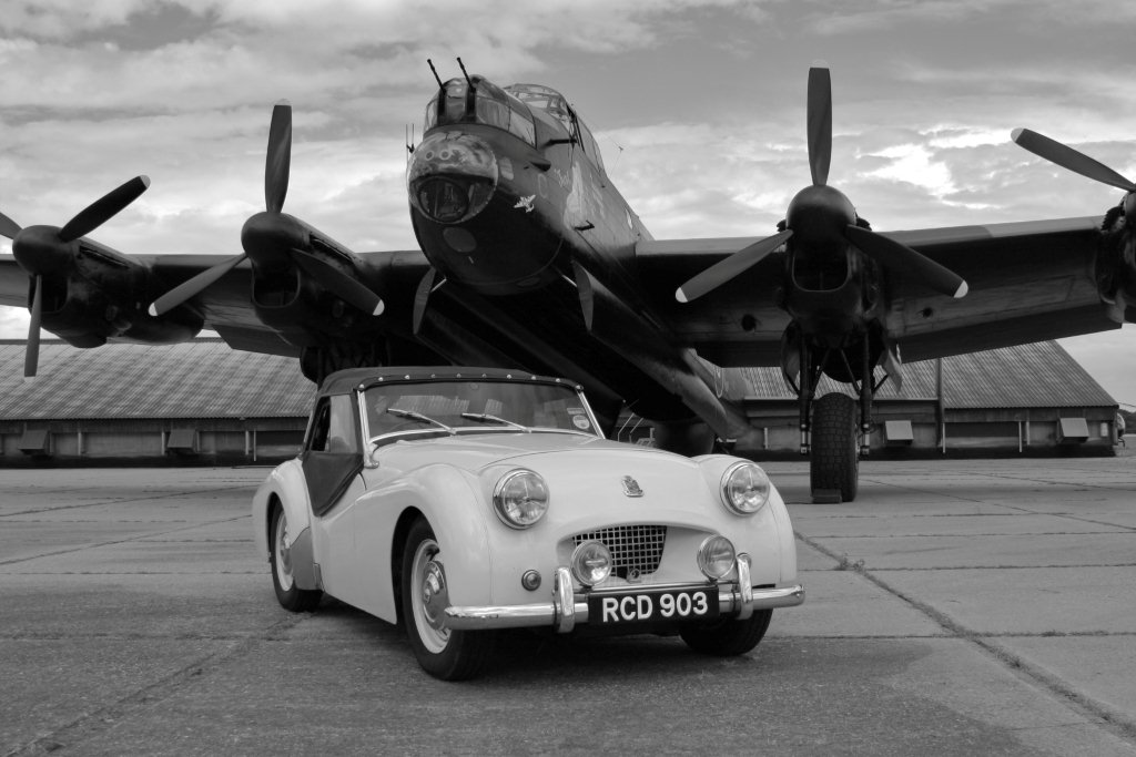 Camb Followers - Lincolnshire Aviation Heritage Trust Visit