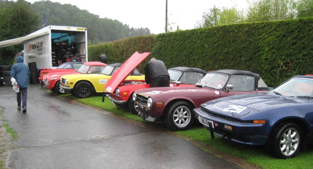 SHELSLEY WALSH HILLCLIMB - report by Richard Durrant