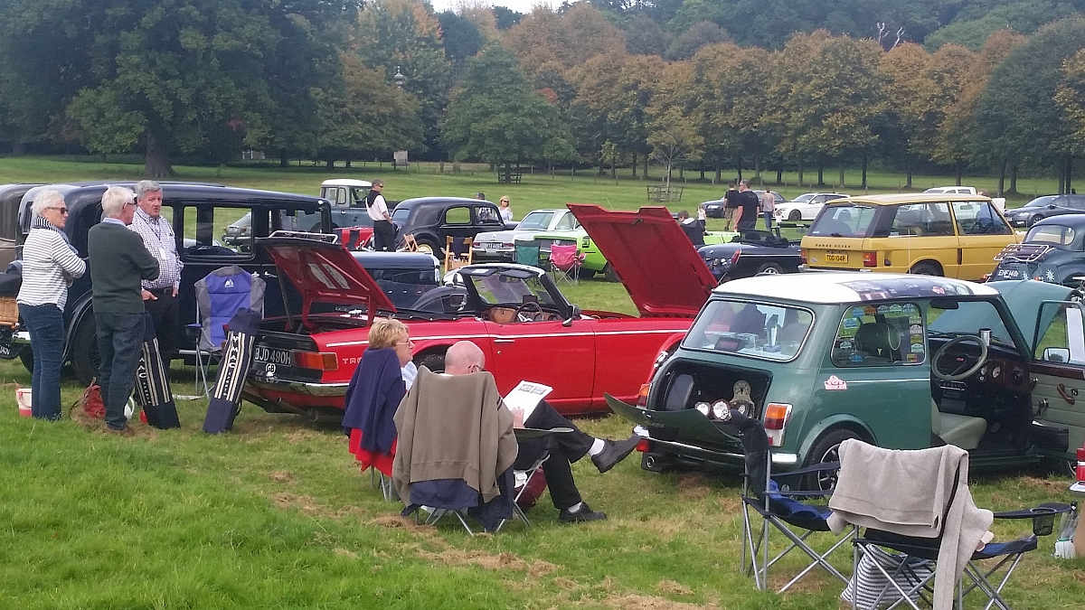 Kennet Valley TR Group to support the Inaugural Thatcham Classic Car Show