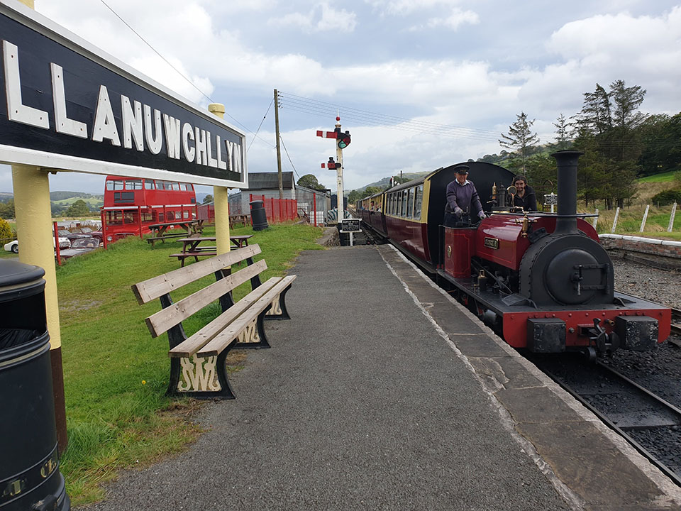 TR Register Shropshire Group Open Road Run to Bala Lake Railway and Llyn Brenig