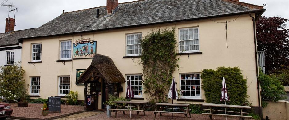 Devon Group - Sunday lunch at the Tom Cobley Tavern, Spreyton