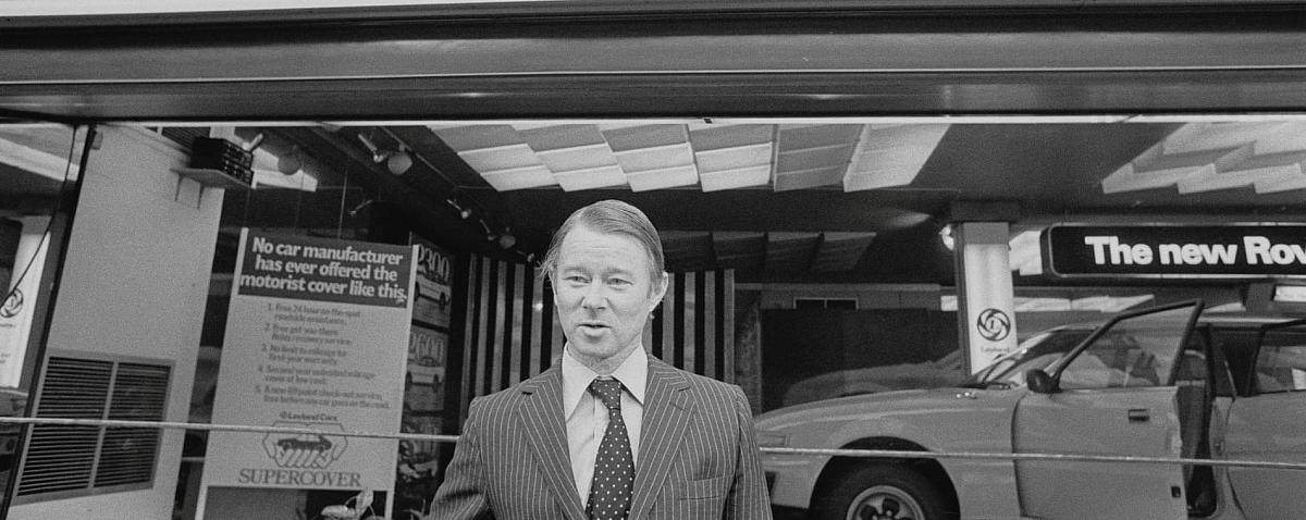 Sir Michael Edwardes 1930 - 2019