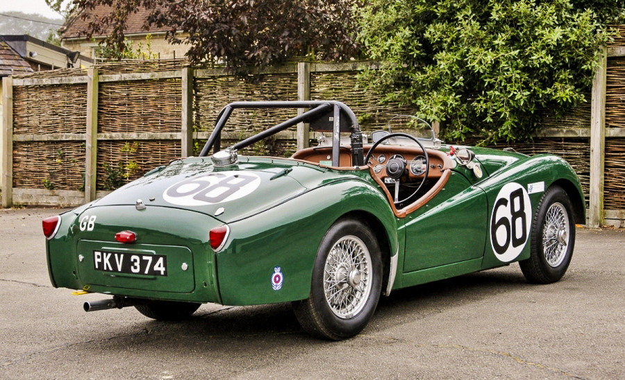 Ex-works, Le Mans TR2 for sale at NEC Classic Motor Show