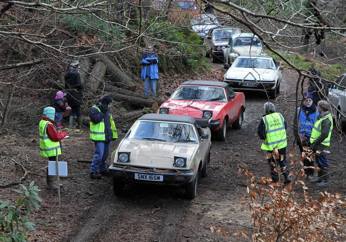 Cornwall Group - The 91st MCC Exeter Trial