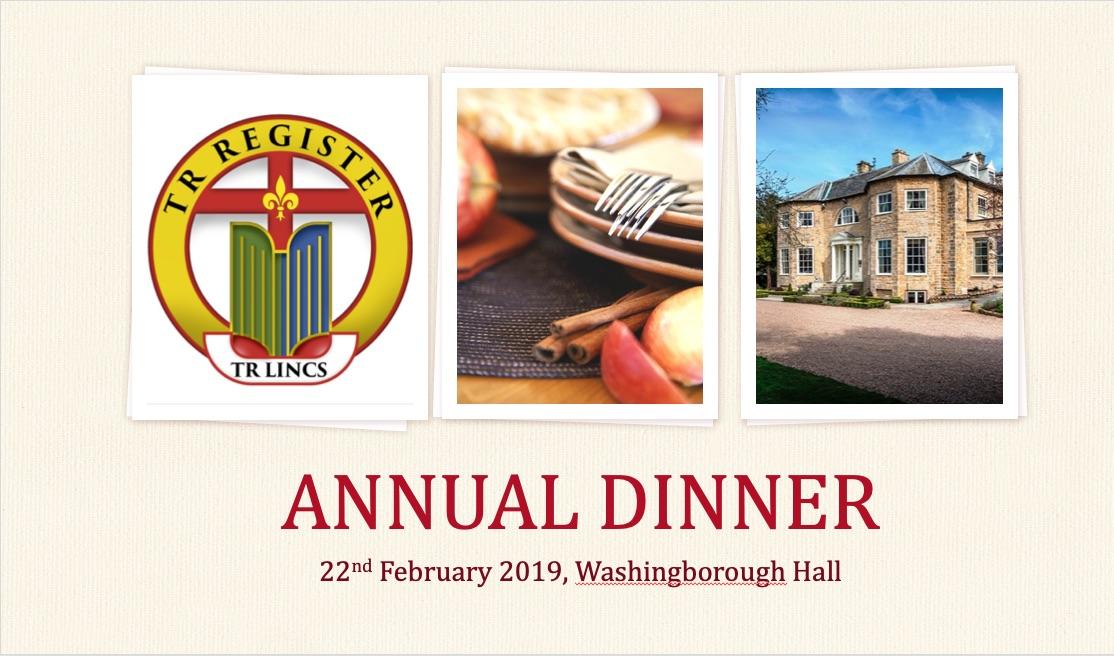 TR Lincolnshire Annual Dinner