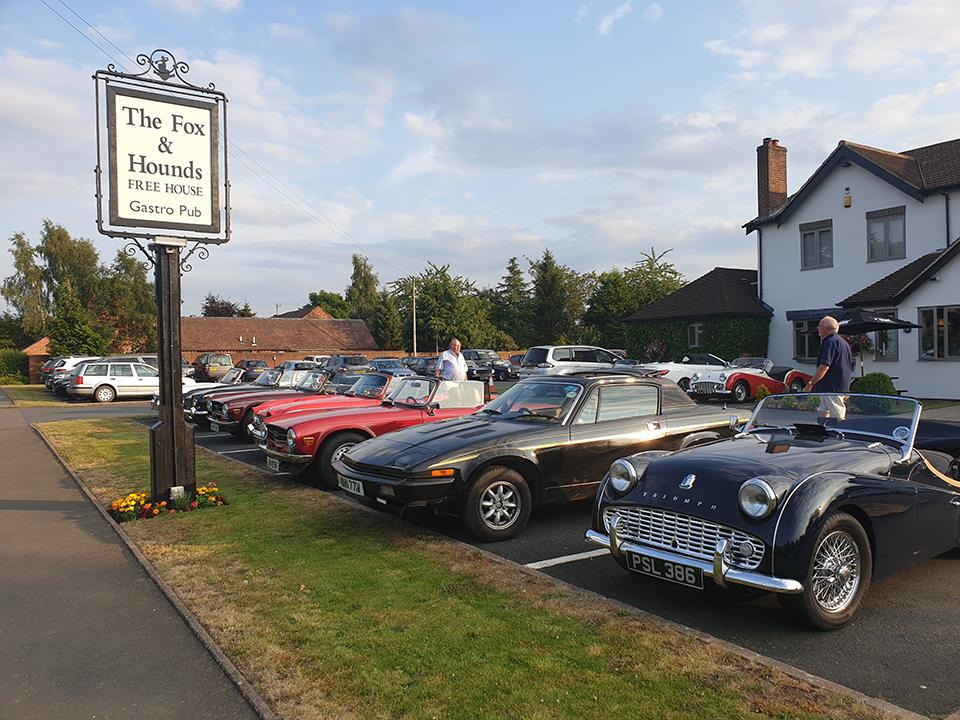 TR Register Shropshire Group Club Night