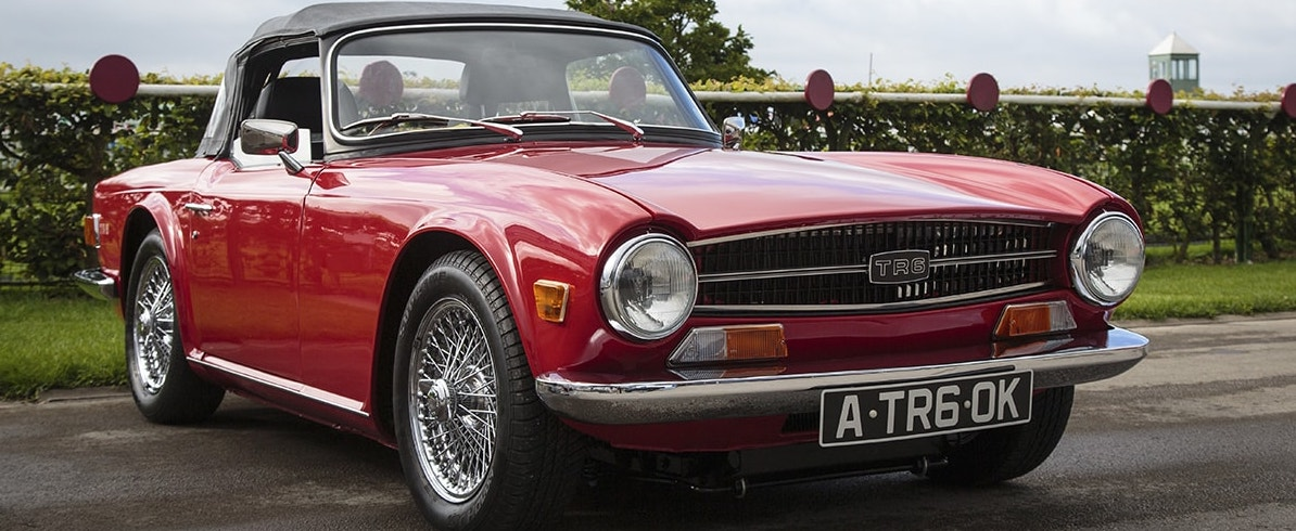 Six sixes celebrate TR6 anniversary at NEC Classic Motor Show