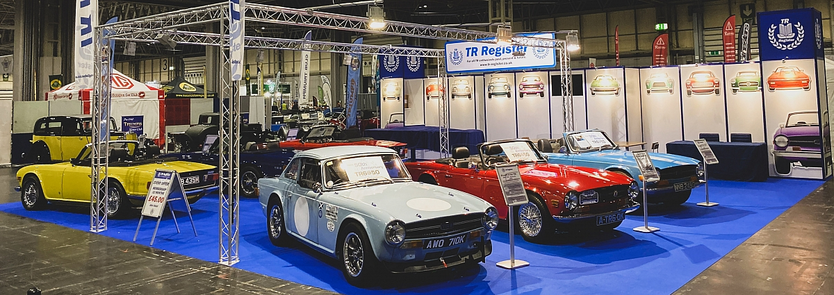 TR Register at the NEC Classic Motor Show