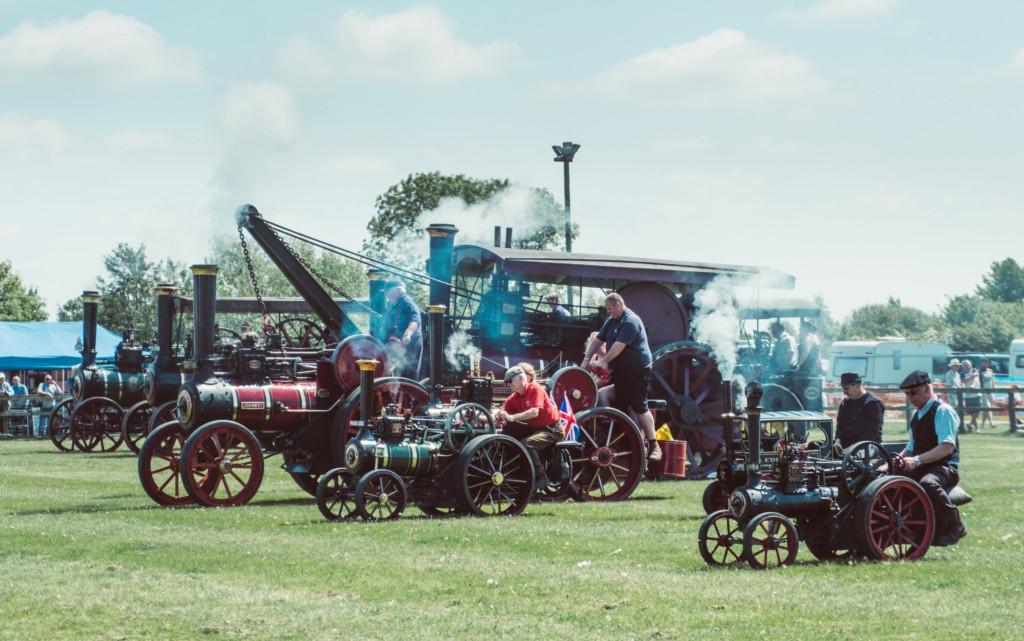 POSTPONED - Abbott & Stour - Steam & Vintage Show @ Stonham Barns