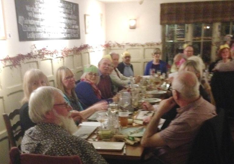 WyeDean Xmas Meal at Kilpeck Inn
