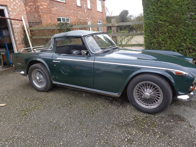 Rebuilding  May 1968 TR5 - A Blog by David McDonald (Part1)