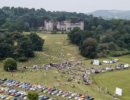 Festival of 1000 Classics at Cholmondeley Castle - Joint TR Register Shropshire and Stoke Groups Stand