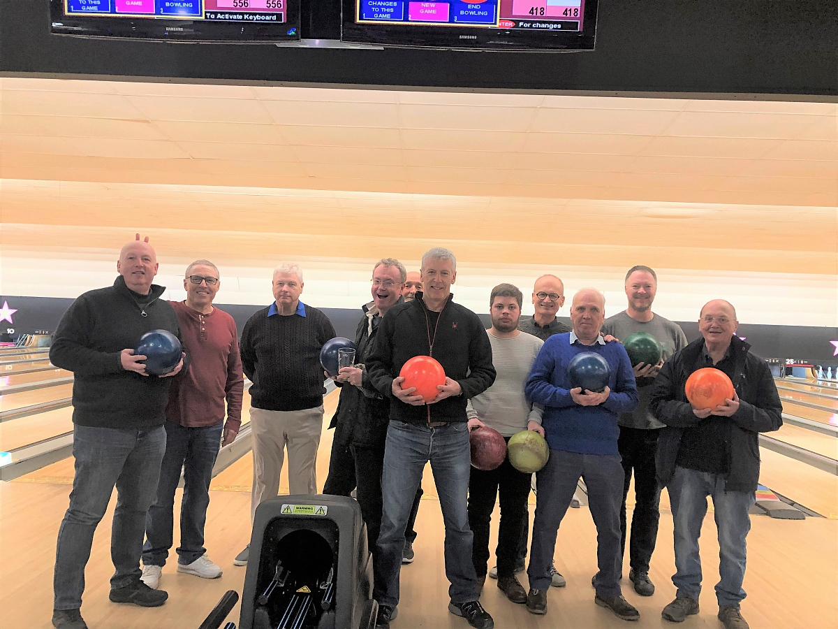 TRLG goes 10 Pin Bowling - 12th March 2020