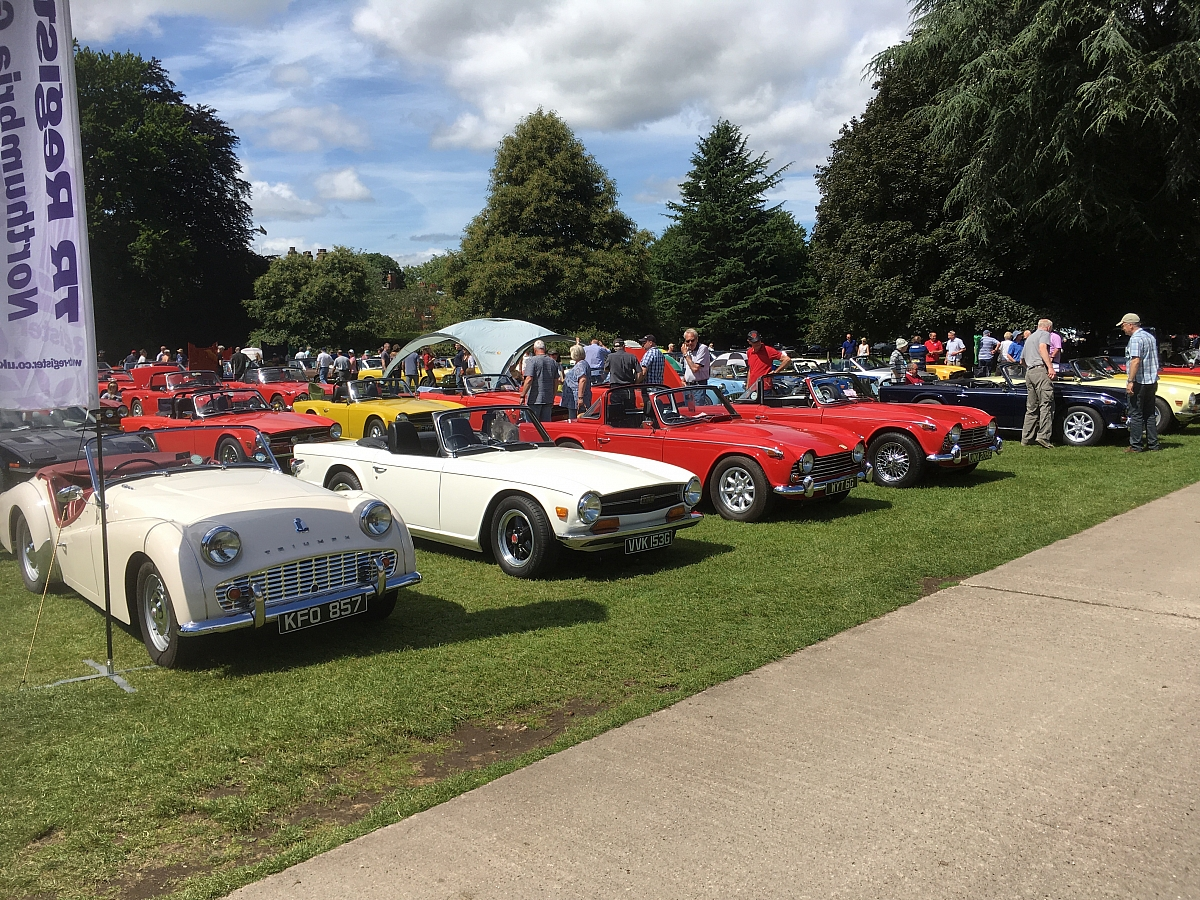 ***CANCELLED*** TR Register 50th anniversary (N.E. Region) as part of Newby Hall classic car show