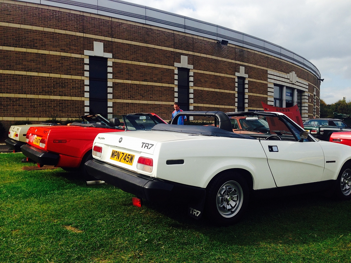 50 Years of the TR Register Celebration Day at British Motor Museum, Gaydon.