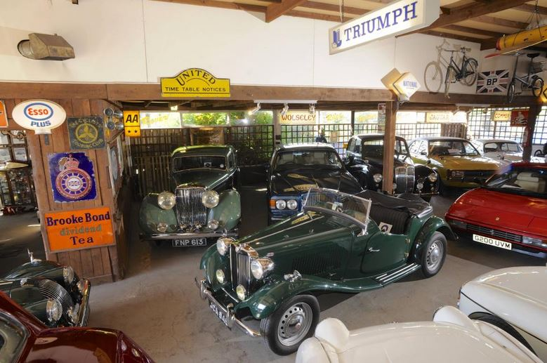 *** CANCELLED*** Cleveland - Visit to Mathewson's Car Museum, made famous by TV programme 'Bangers and Cash'