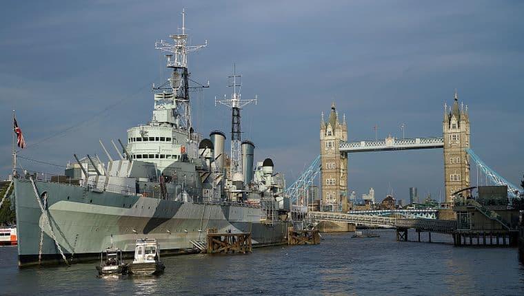 NLG away day - HMS Belfast