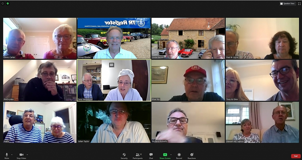 Kennet Valley Group - July Virtual Club Night Meeting