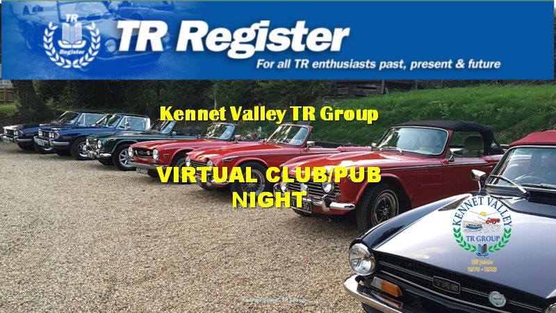 Kennet Valley Group - June Virtual Club Night