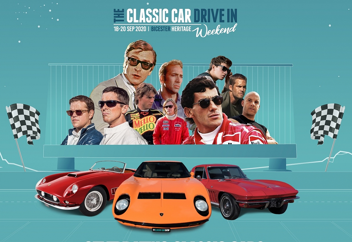 The Classic Car Drive in Weekend - Bicester free entry for display cars