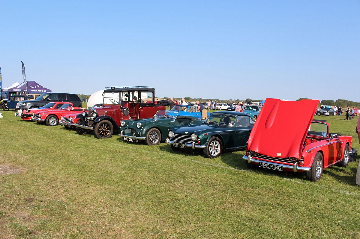 Brand Events Classic Drive in Weekend, Bicester Quenches the Classic Drought