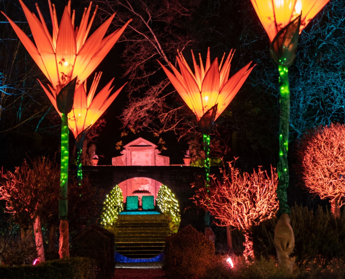 KVG members to visit West Green House - The Illuminated Garden still on under the new guidance