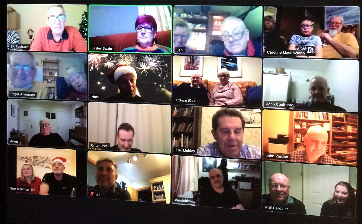 Glavon Group - Christmas Natter & Noggin via Zoom - 22nd December 2020