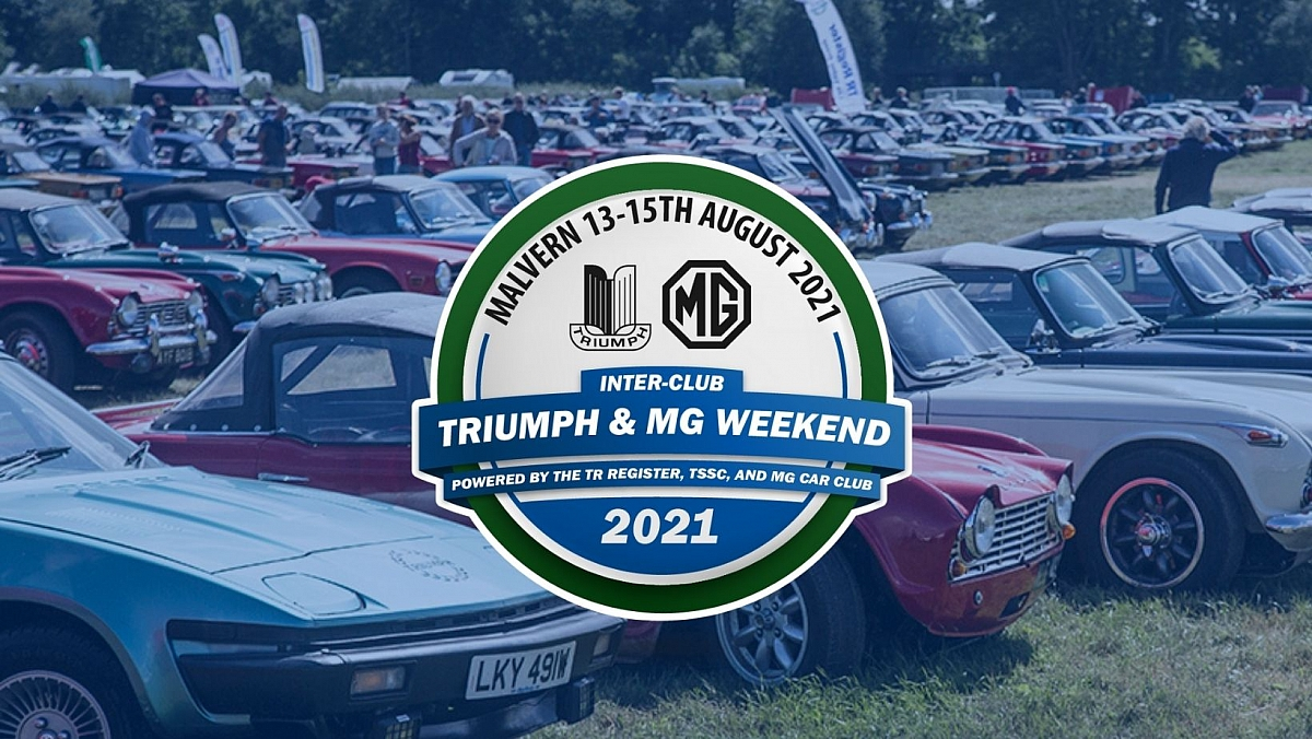 Clubs collaborate to create exciting new Triumph and MG Weekend!!