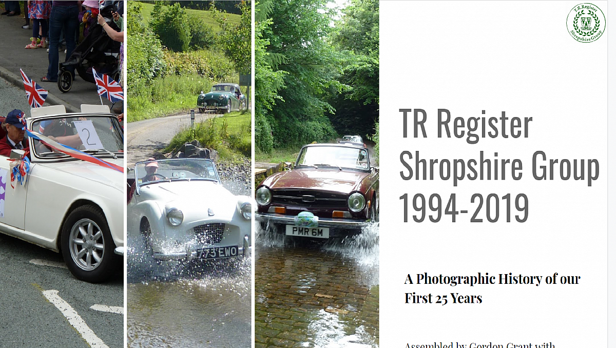 TR Register Shropshire Group - The First 25 Years.