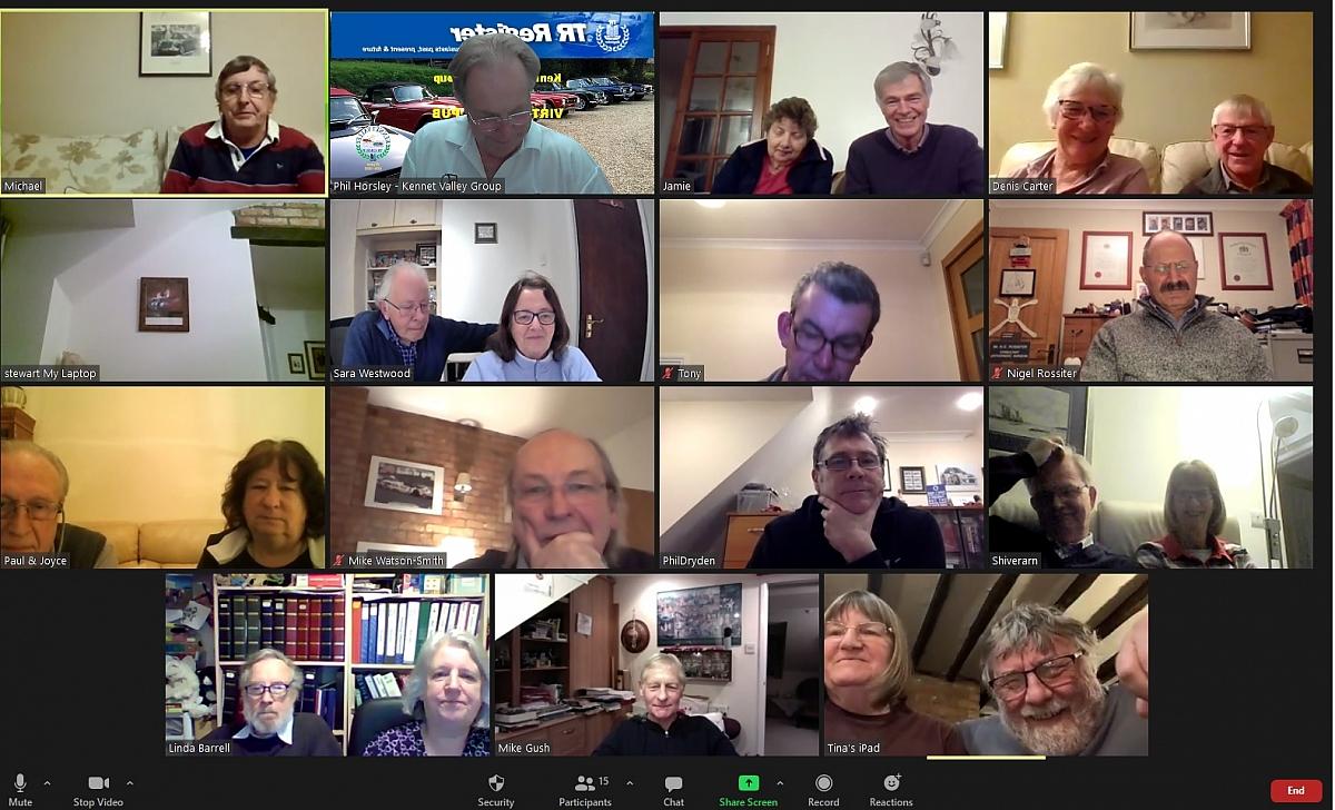 Kennet Valley Group - Annual Members Meeting