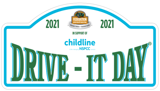 Drive it Day 2021 - get your rally plate now!