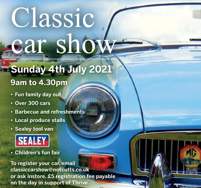 Notcutts Classic Show - CANCELLED until 2022