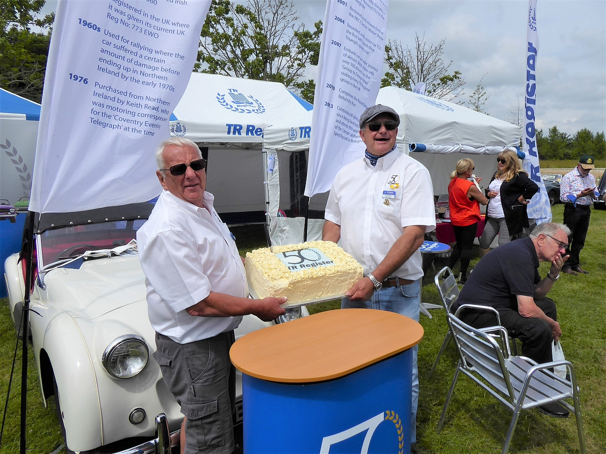 Glavon Group at the TR Register 50th(+1) Celebrations, Gaydon - 11th July 2021