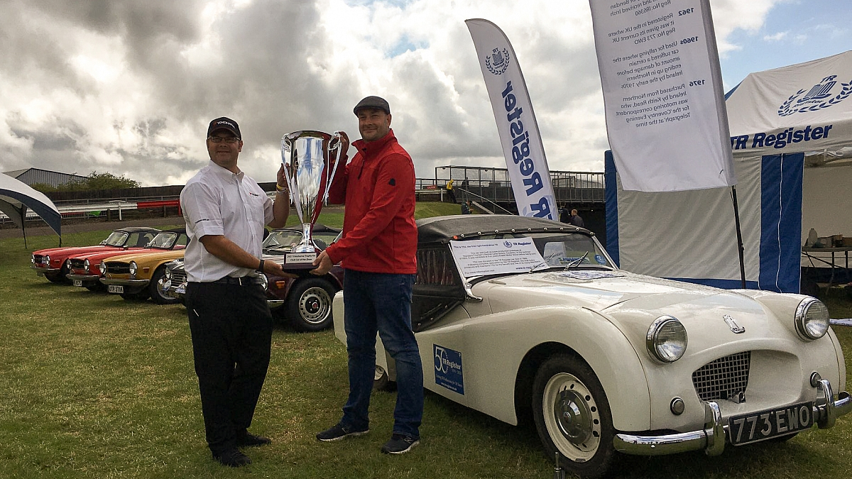 TS2 wins CAR OF THE SHOW at The Classic - Silverstone