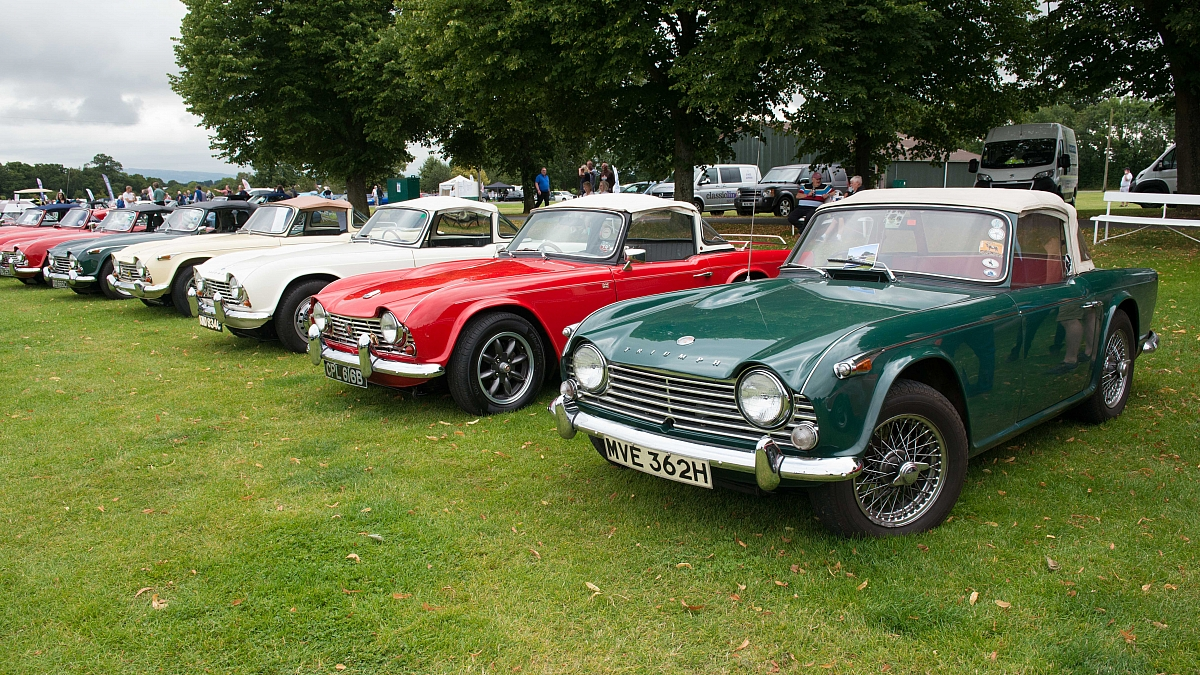 Brunel at the Triumph and MG Weekend