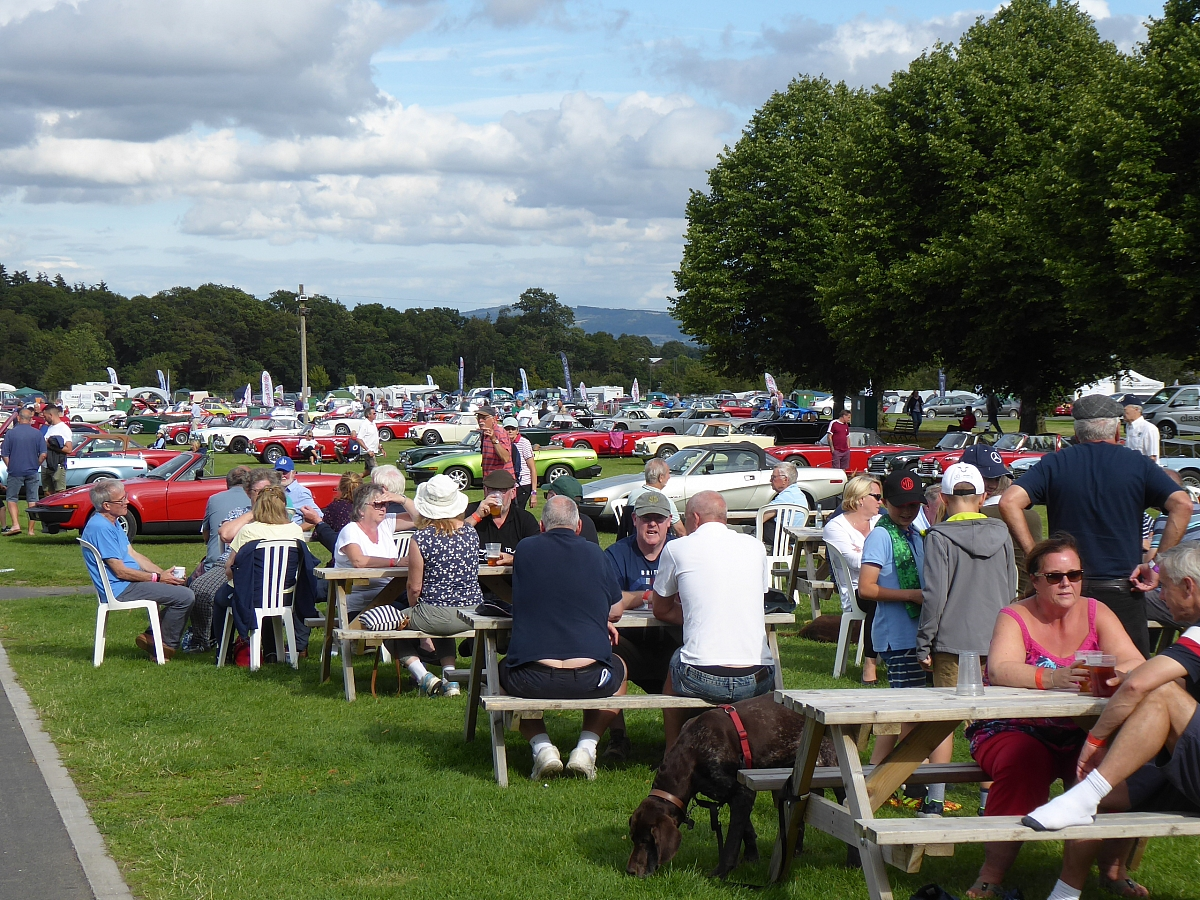 Glavon Group at the Inter-Club Triumph and MG Weekend - 13th-15th August 2021