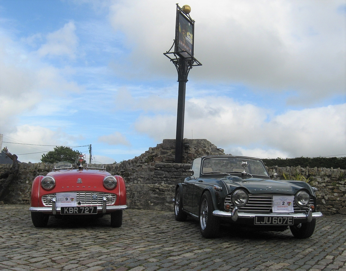 Cornwall Group - Classic & Sports Tour of Cornwall